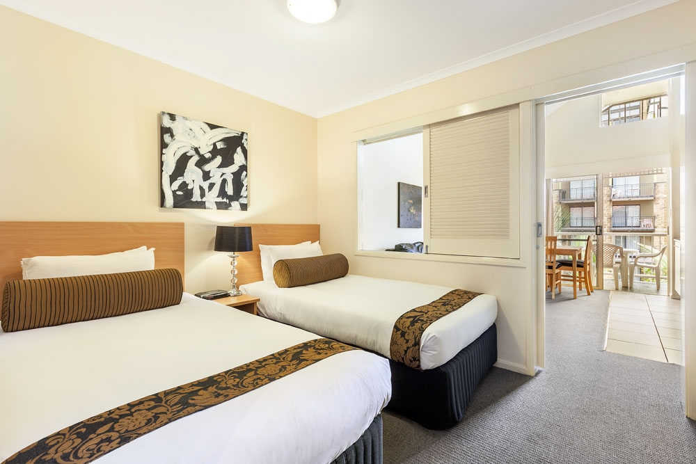 Two bedroom apartment at Quest On Story Bridge