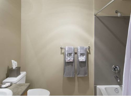 Bathroom at The Kennedy Apartment