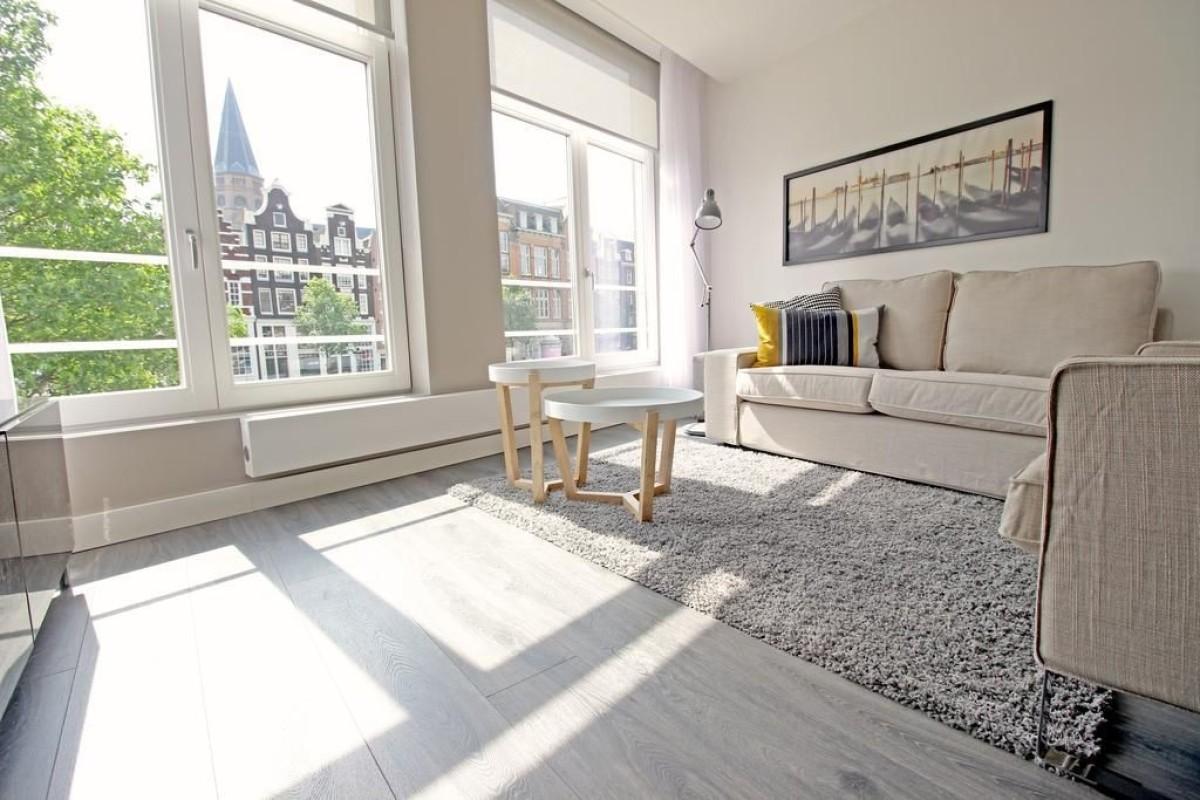 Living area at Jordaan Harlem Prince Apartments, Amsterdam