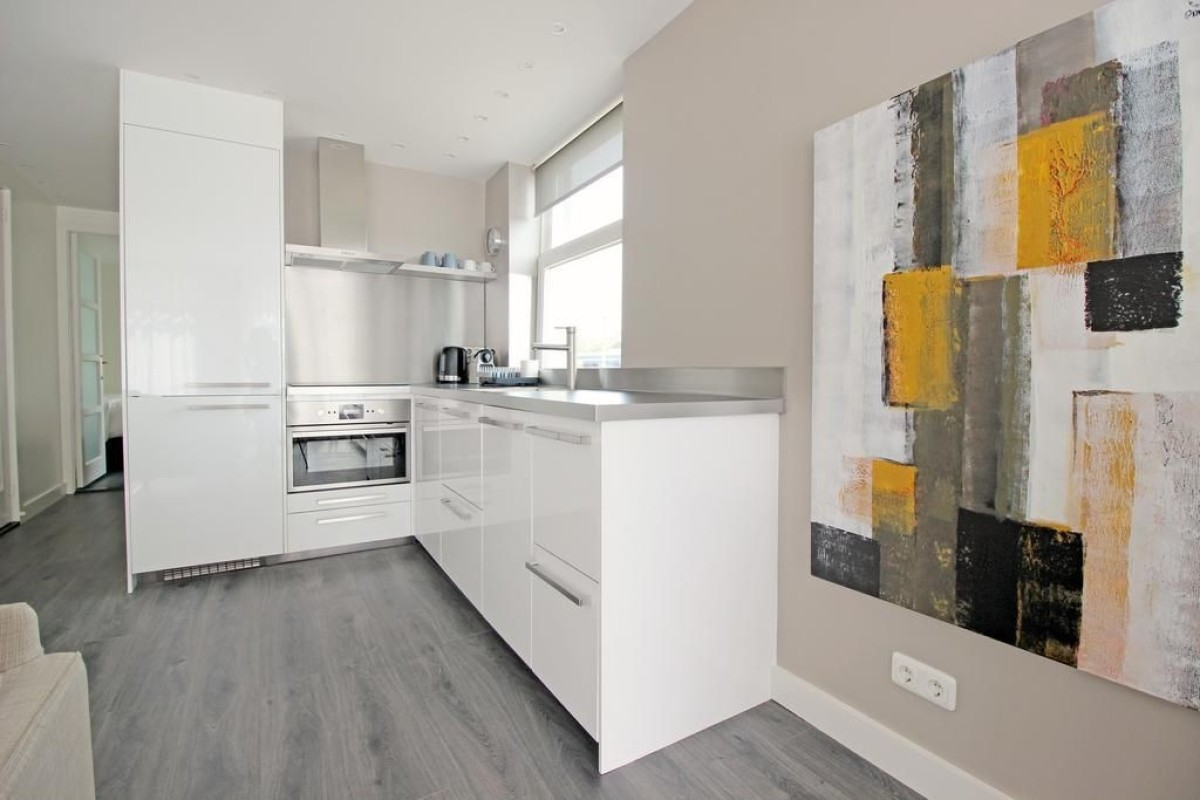 Kitchen at Jordaan Harlem Prince Apartments, Amsterdam