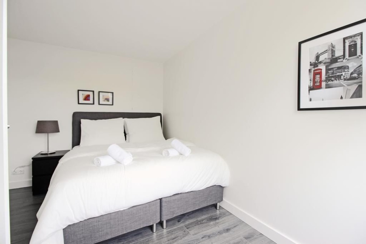 Bedroom at Jordaan Harlem Prince Apartments, Amsterdam