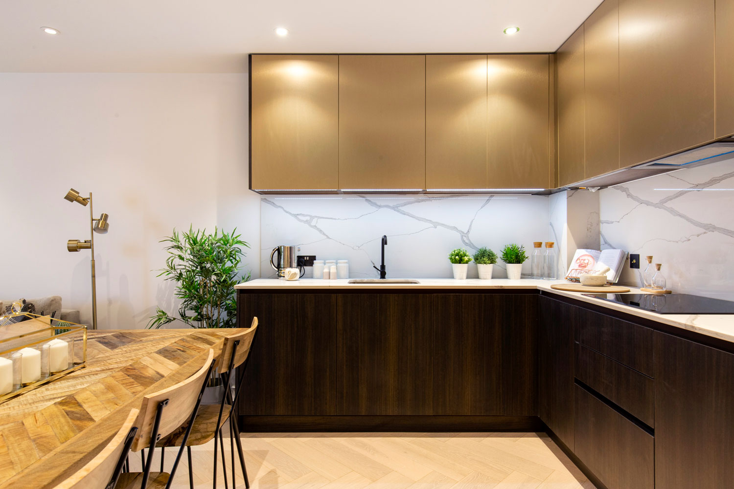 Kitchen at The Lofts E1 By Q Apartments