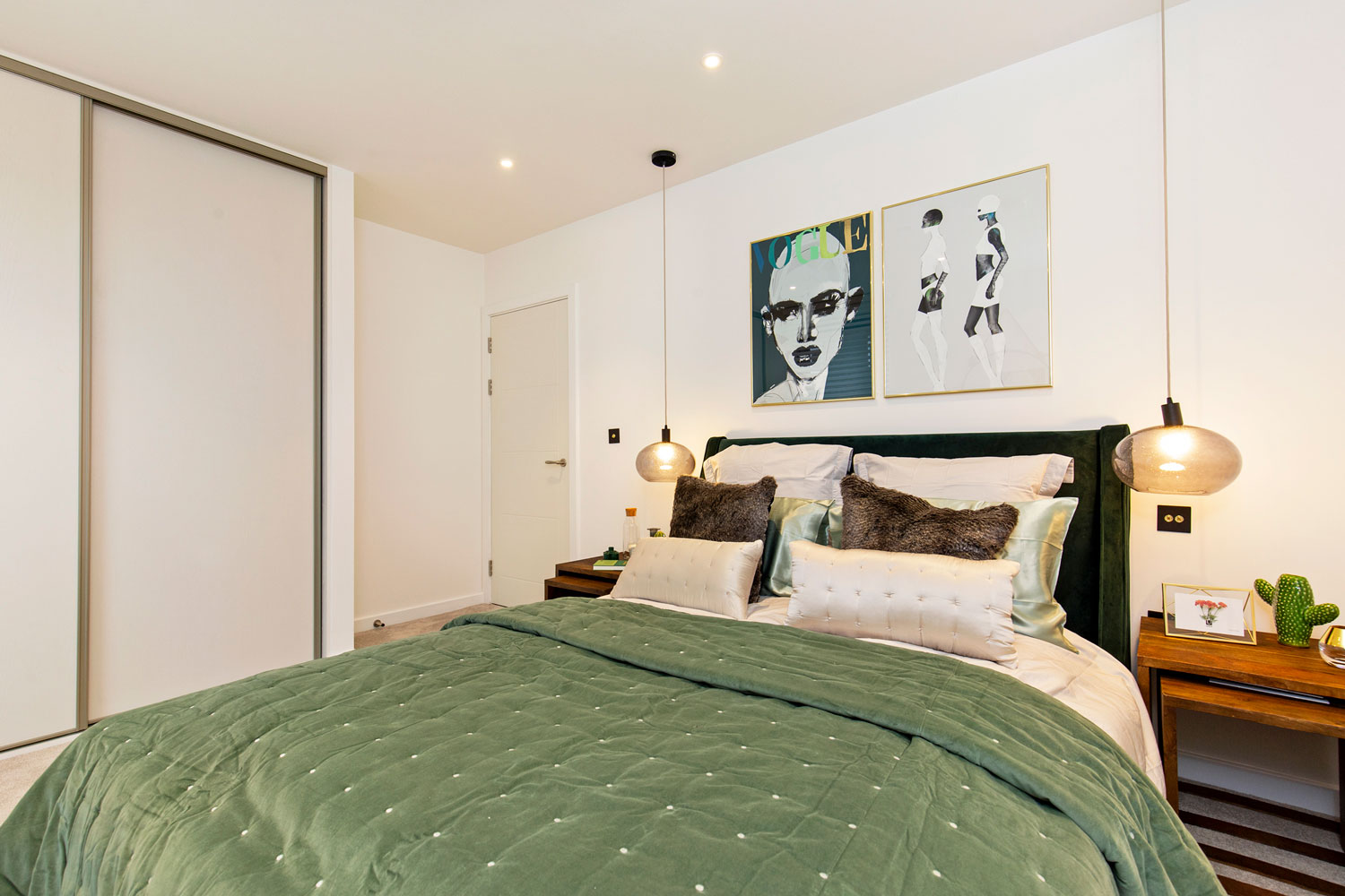 Bedroom at The Lofts E1 By Q Apartments