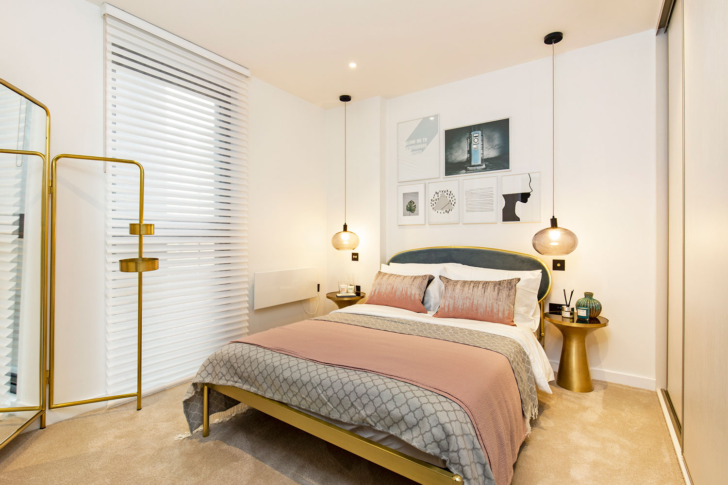 Bed at The Lofts E1 By Q Apartments