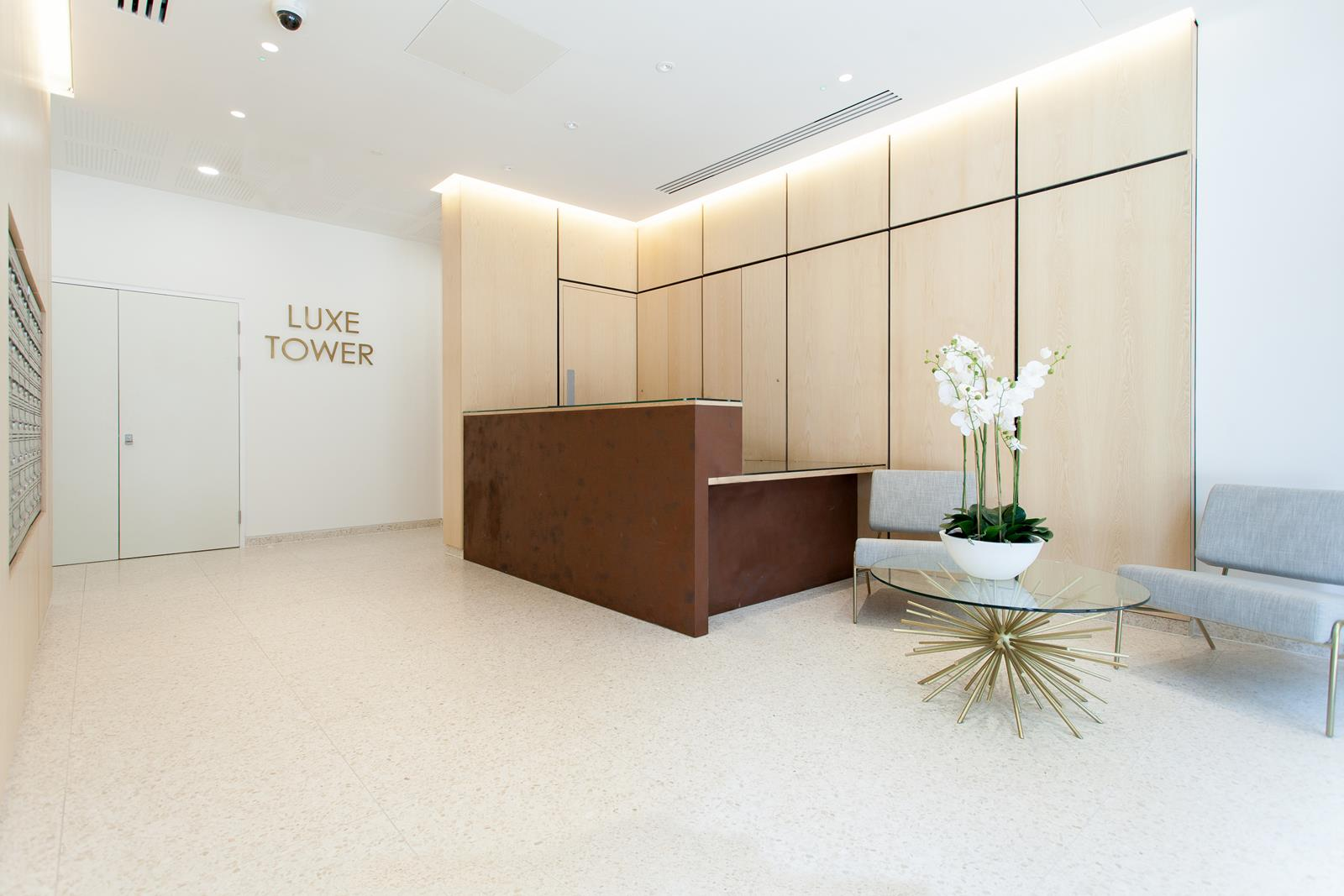 Lobby at The Lofts E1 By Q Apartments