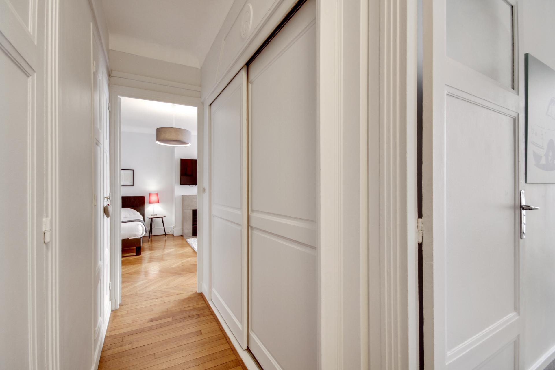Hallway at Rue Saint-Marc Apartments