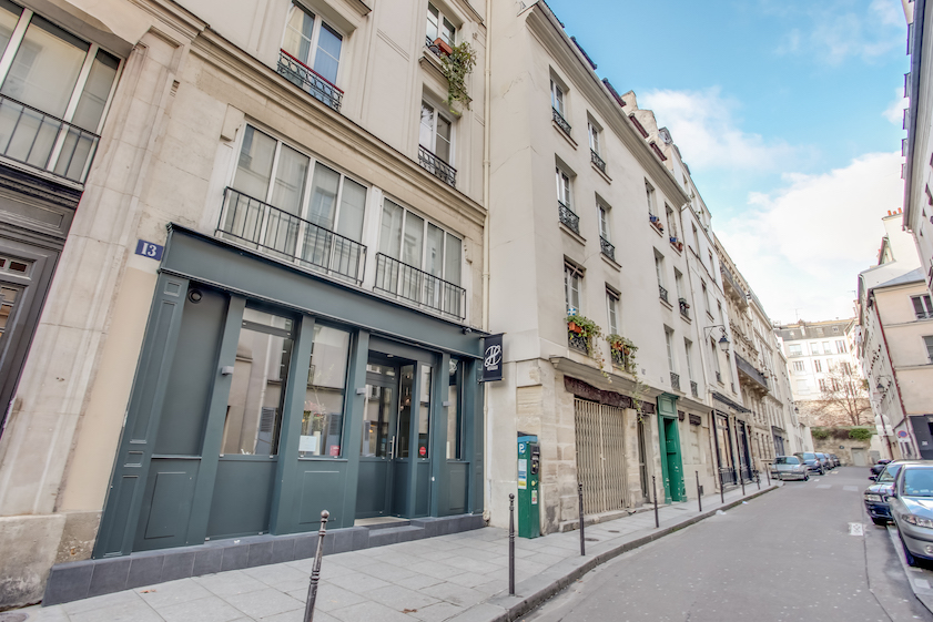 Exterior at Rue Jean Beausire Apartment
