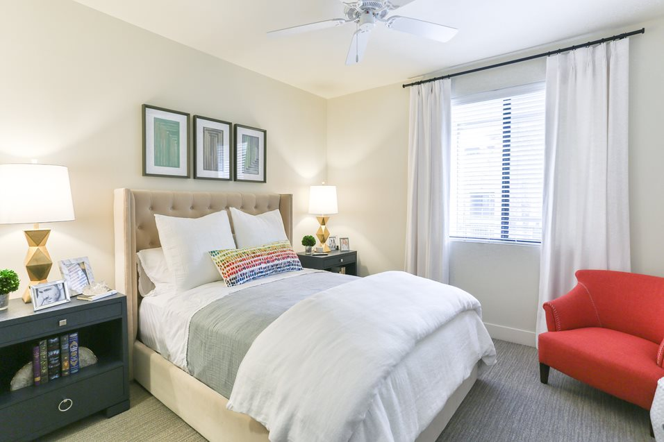 Bedroom at Broadstone Chandler Fashion Center Apartment
