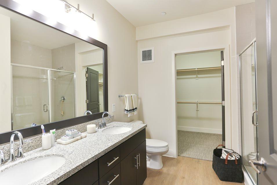 Bathroom at Broadstone Chandler Fashion Center Apartment
