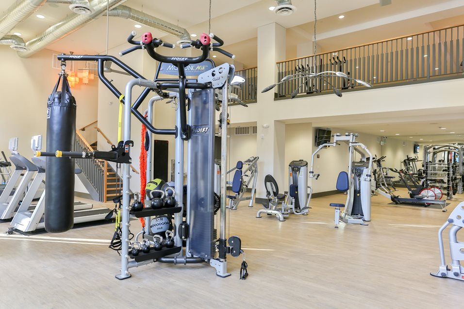 Gym at Broadstone Chandler Fashion Center Apartment