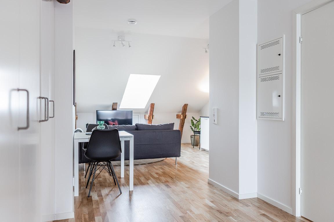 Entrance at Osbygatan Apartment, Norra Sofielund, Malmö