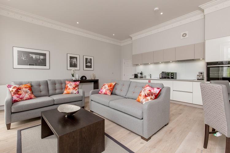 Sofa at Chisholm Hunter Suites