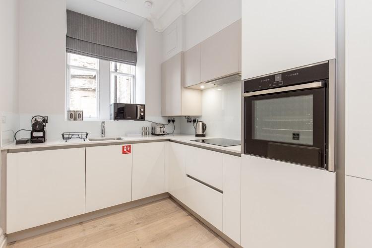 Kitchen at Chisholm Hunter Suites