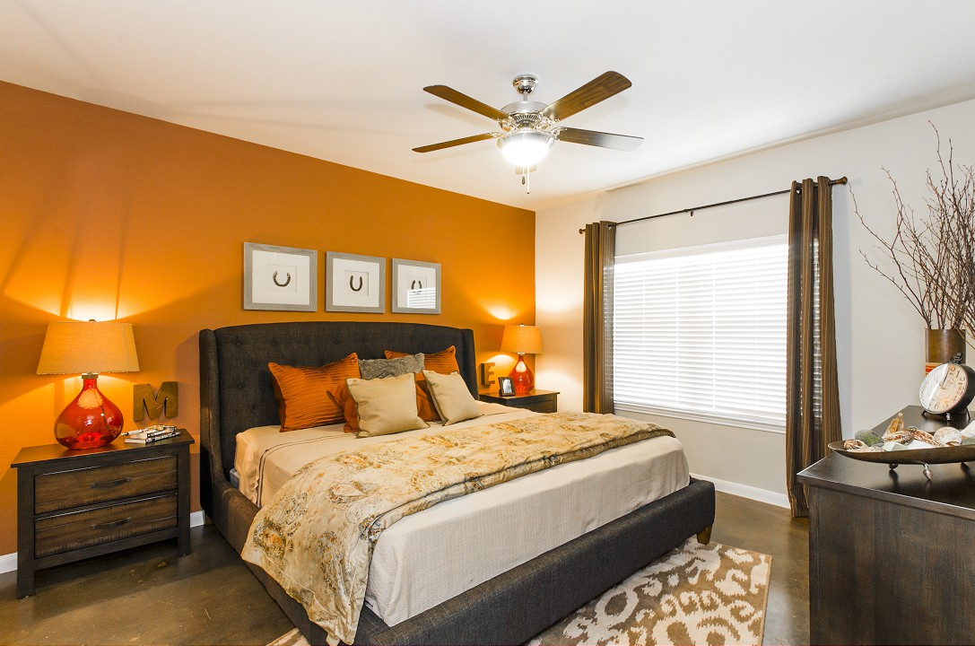 Bedroom at Legacy Brooks Apartments