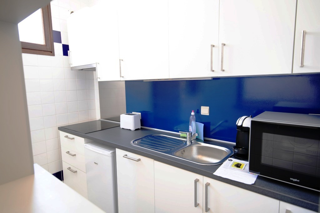 Kitchenette at Infotel Apartments