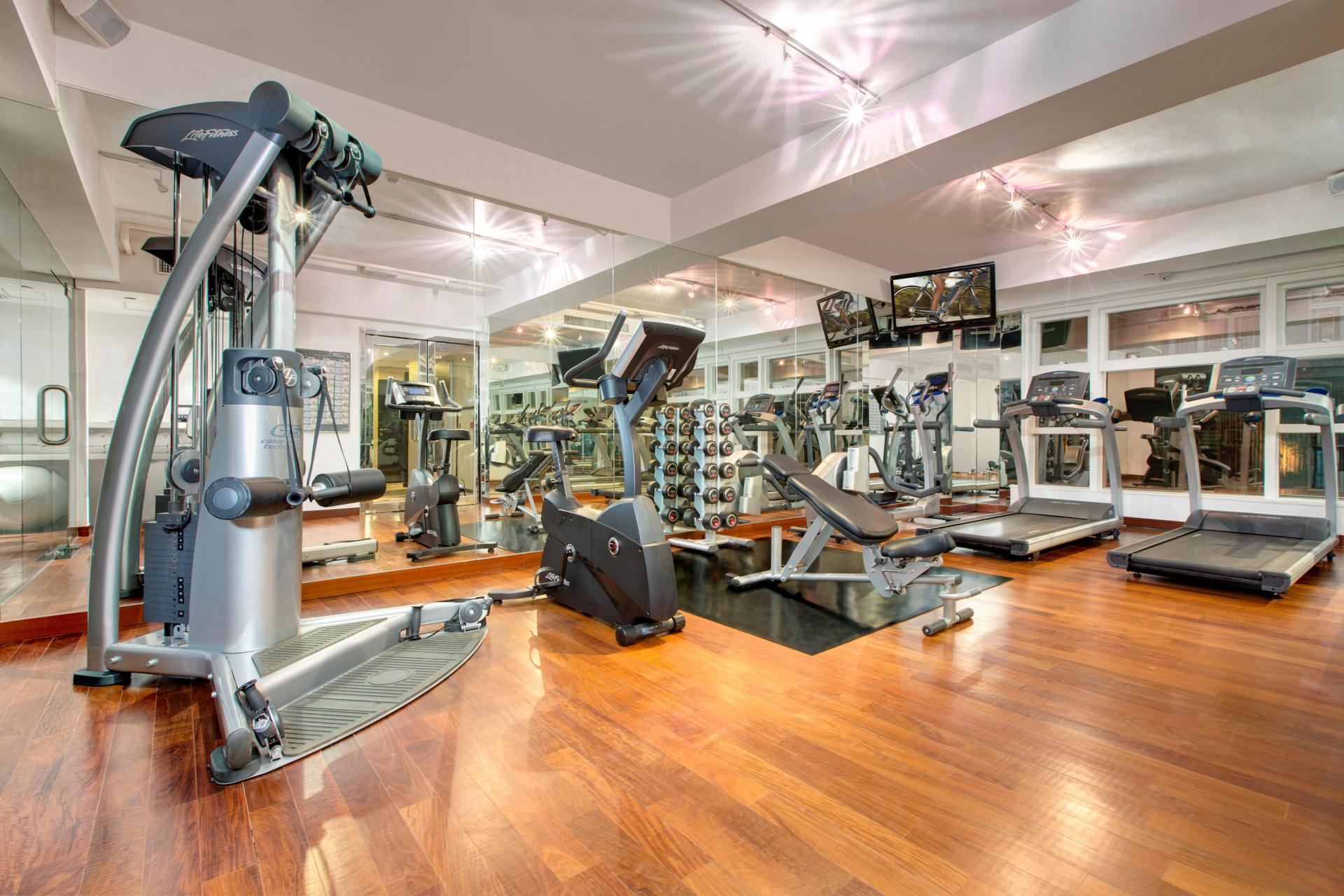 Gym at Peel Street Central Apartments