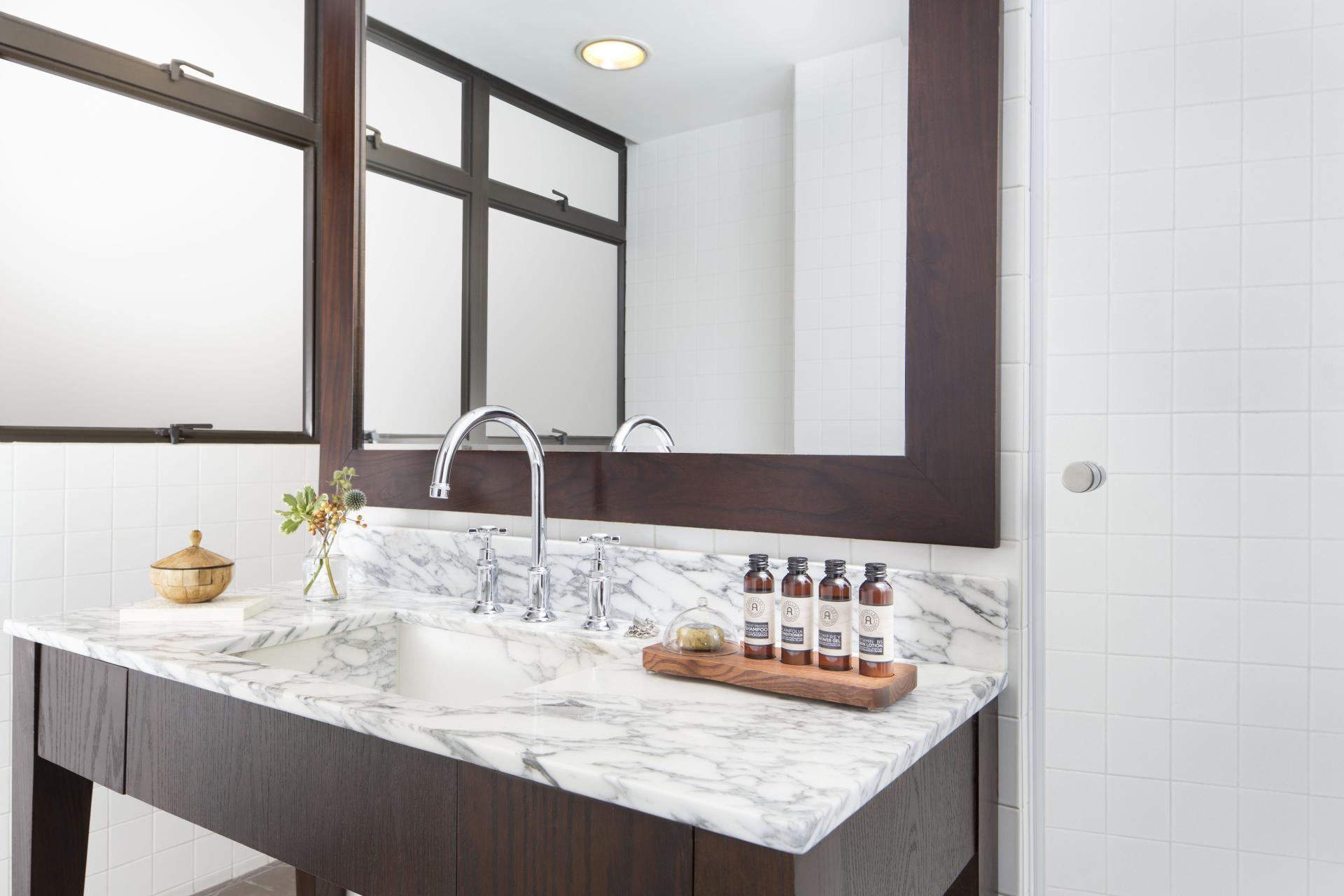 Bathroom at Peel Street Central Apartments