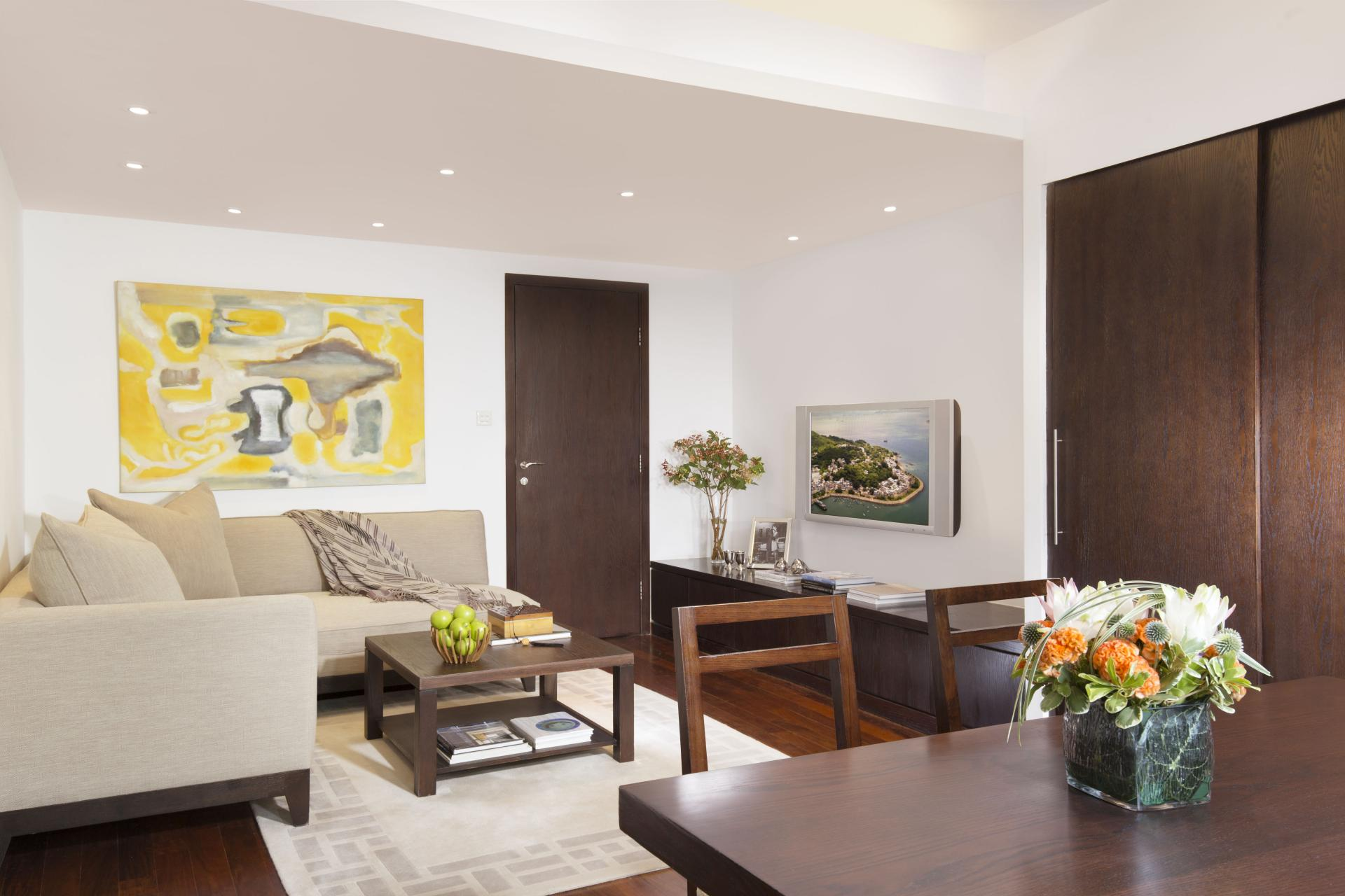Lounge at Peel Street Central Apartments