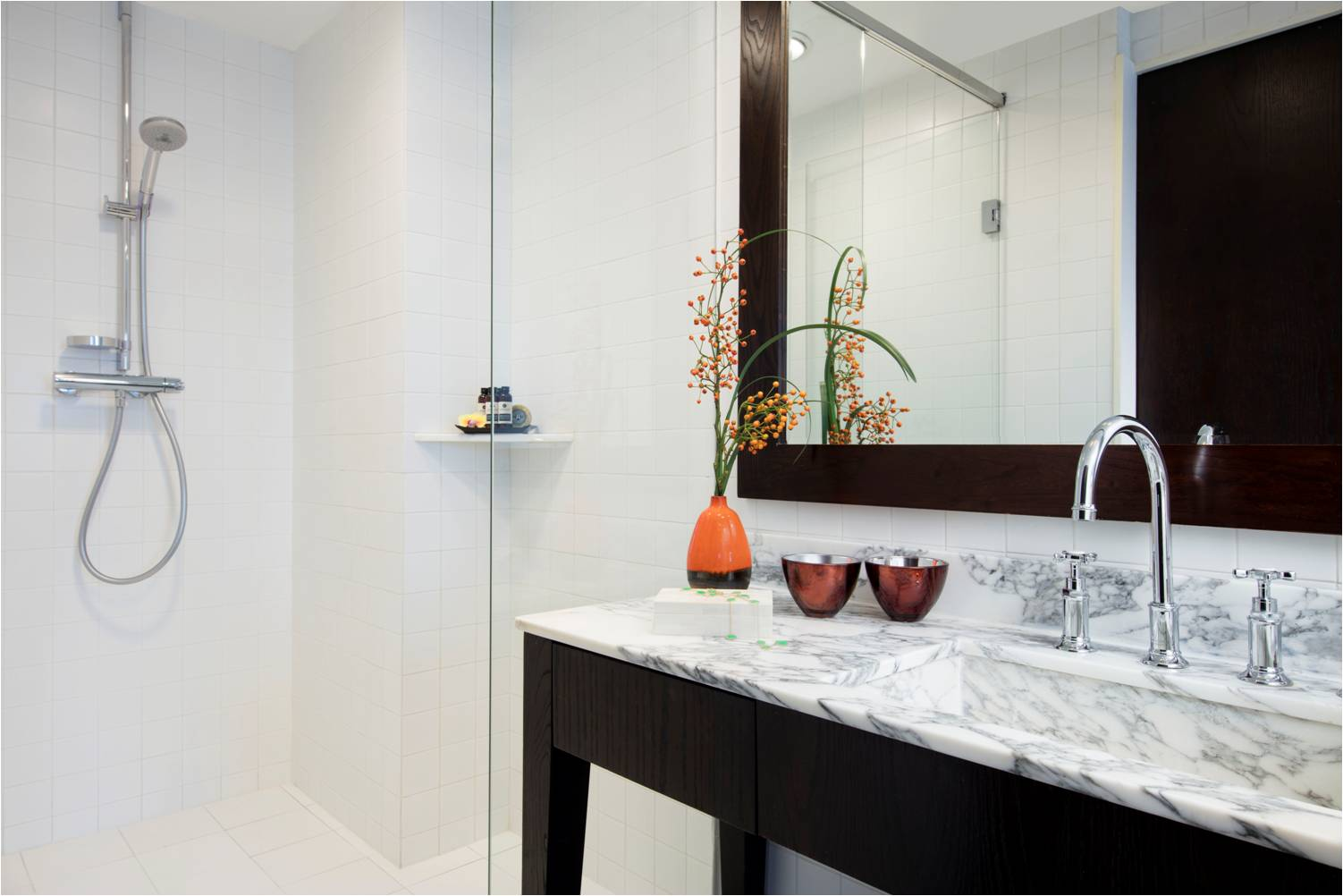 Shower at Peel Street Central Apartments