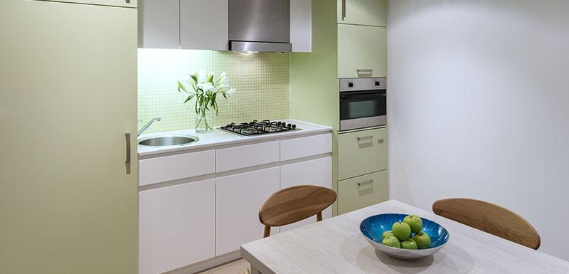 Kitchen at Oaks Glenelg Liberty Suites