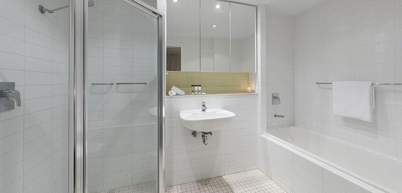 Bathroom at Oaks Glenelg Liberty Suites