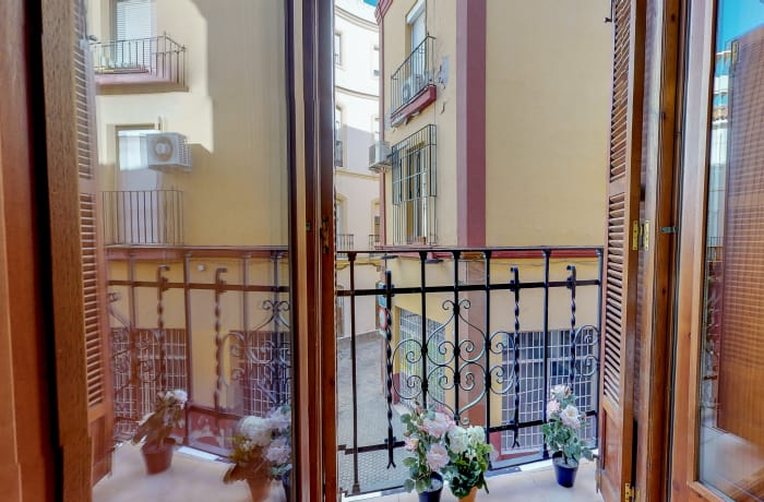 Balcony at Conde De Torrejon 11 Apartment