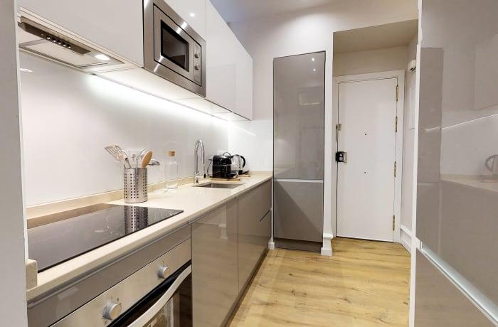 Kitchen at Conde De Torrejon 11 Apartment