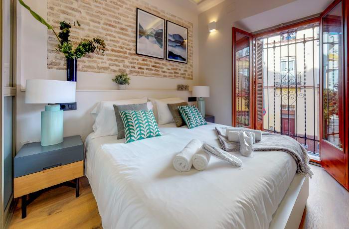 Bedroom at Conde De Torrejon 11 Apartment