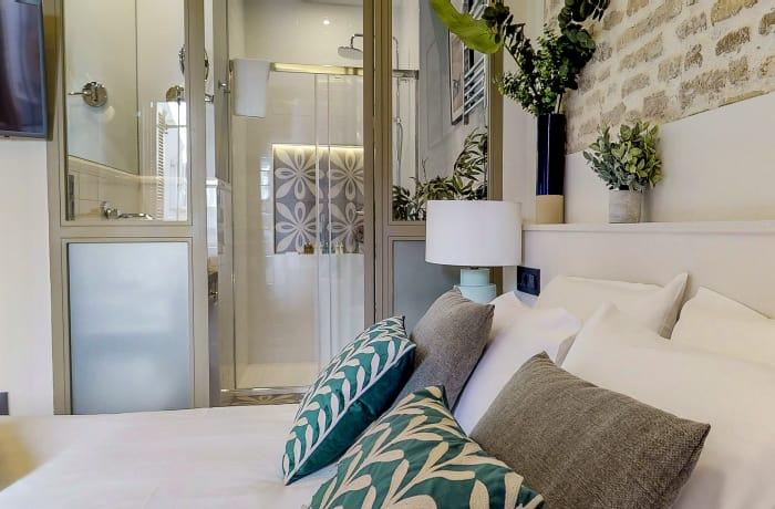 Cosy bedroom at Conde De Torrejon 11 Apartment