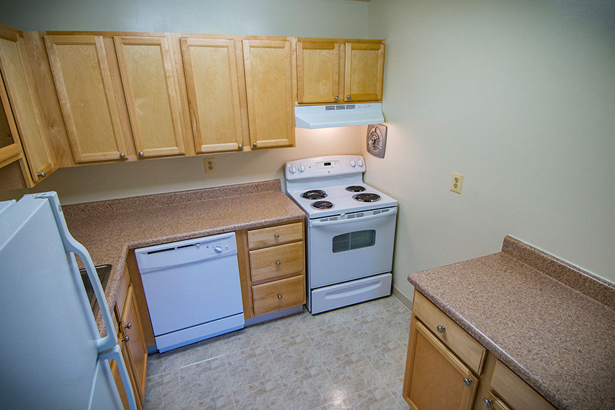 Kitchen  at Carriage Park Apartments