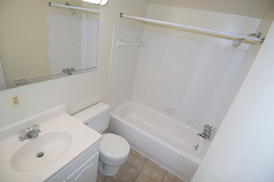 Bathroom  at Carriage Park Apartments