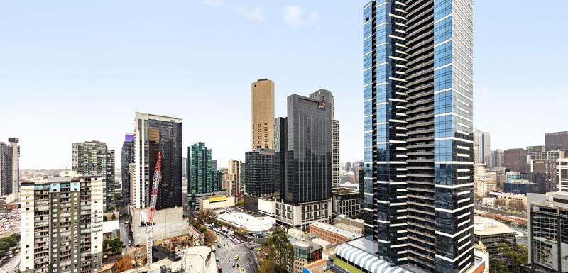 Exterior at Oaks Melbourne Southbank Suites