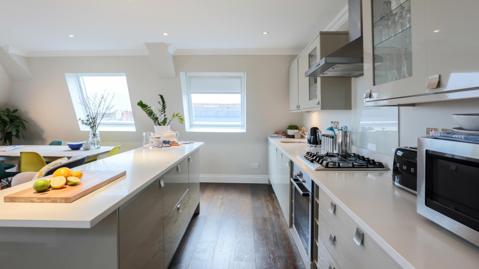 Kitchen at White Hill 5 Apartment