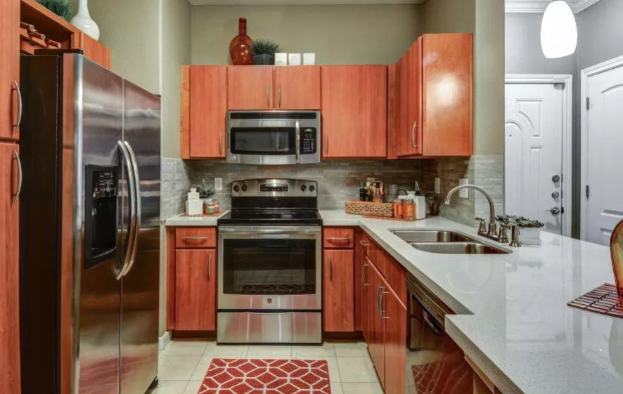 Kitchen at San Paloma Apartment
