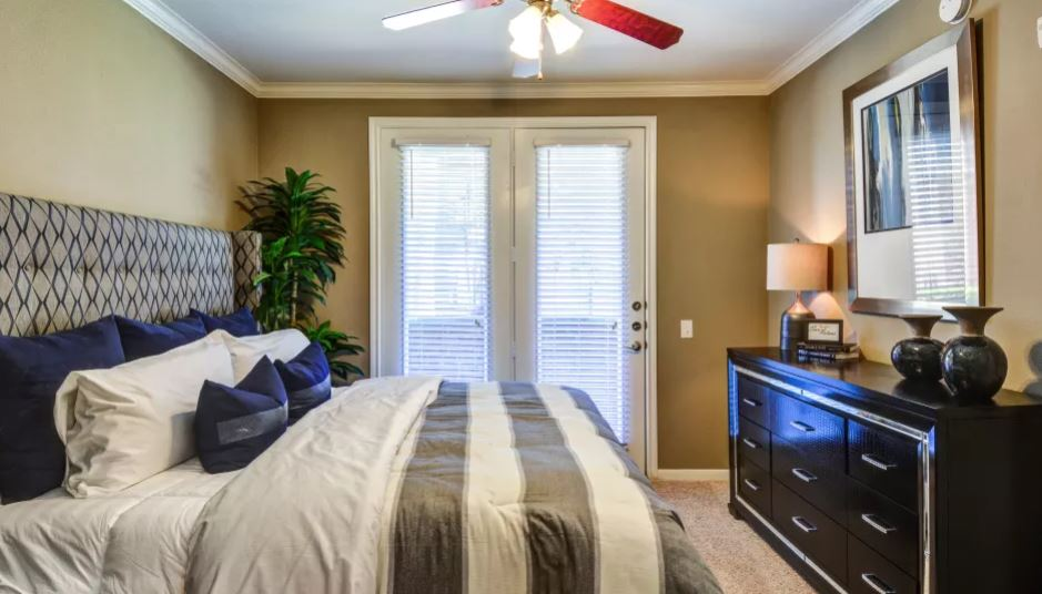 Bedroom at San Paloma Apartment