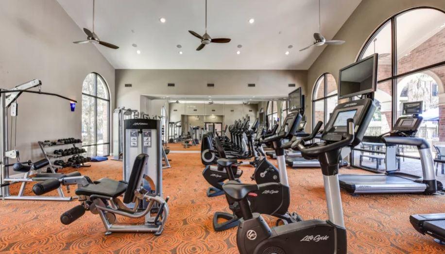 Fitness Center at San Paloma Apartment