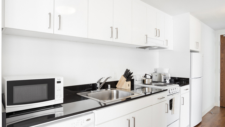 Kitchen at 1188 Missions Apartment