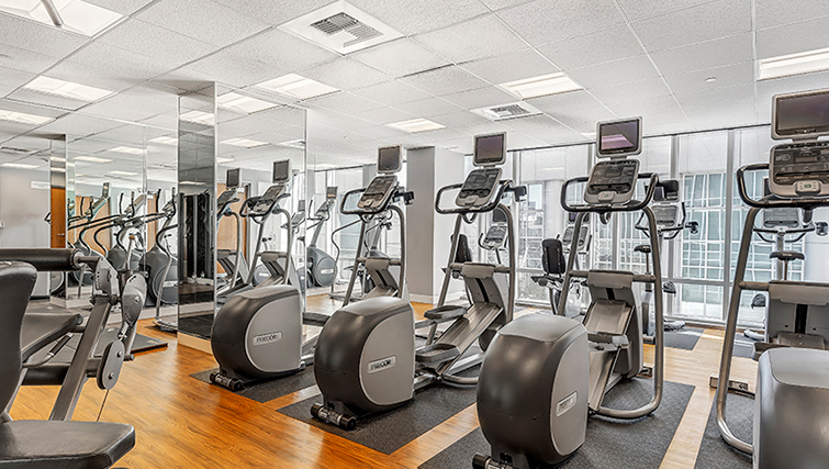 Gym at 1188 Missions Apartment
