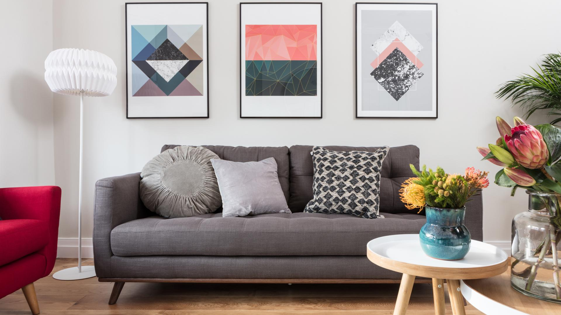 Sofa at Byrne Garden 1 Apartment