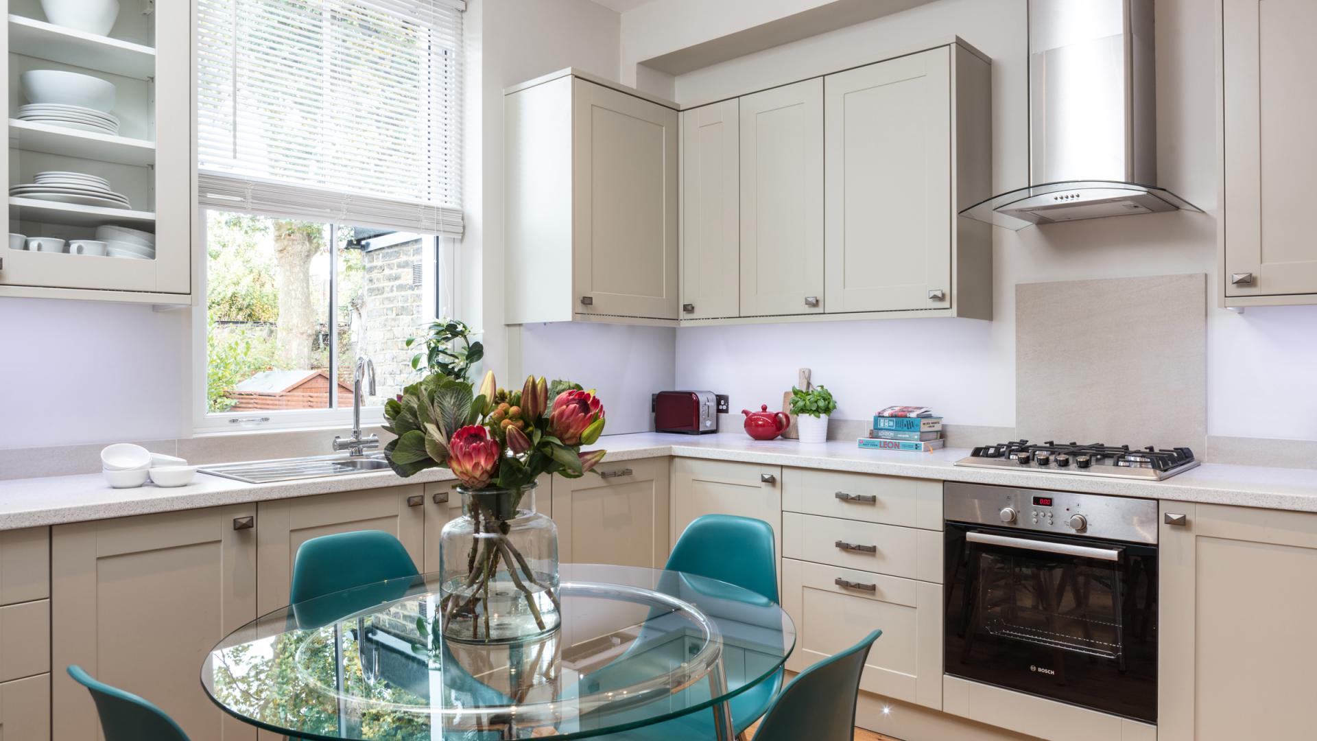 Kitchen at Byrne Garden 1 Apartment