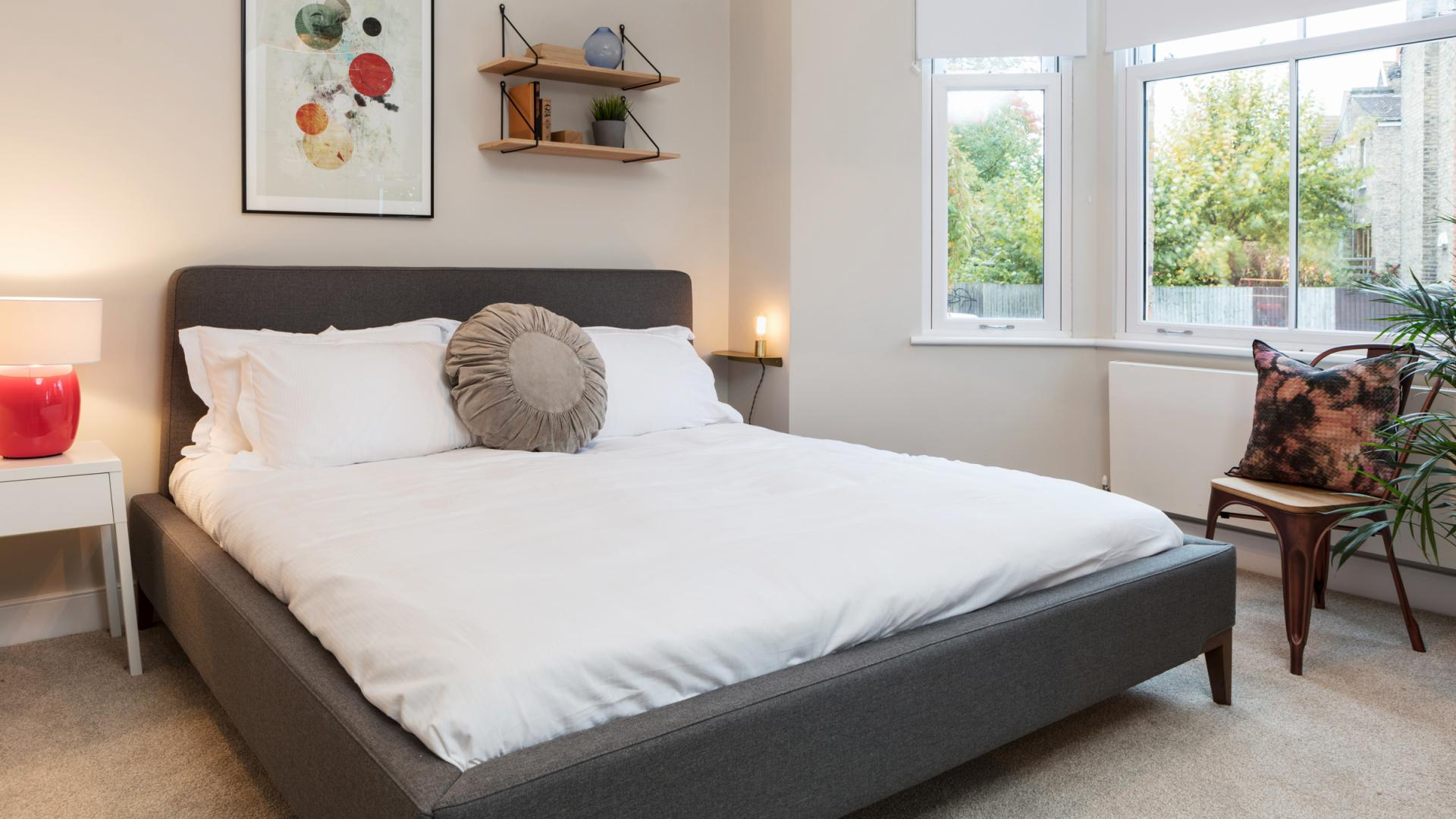Bedroom at Byrne Garden 1 Apartment