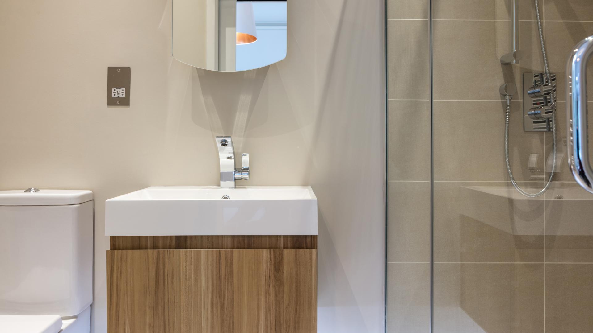 Bathroom at Byrne Garden 1 Apartment