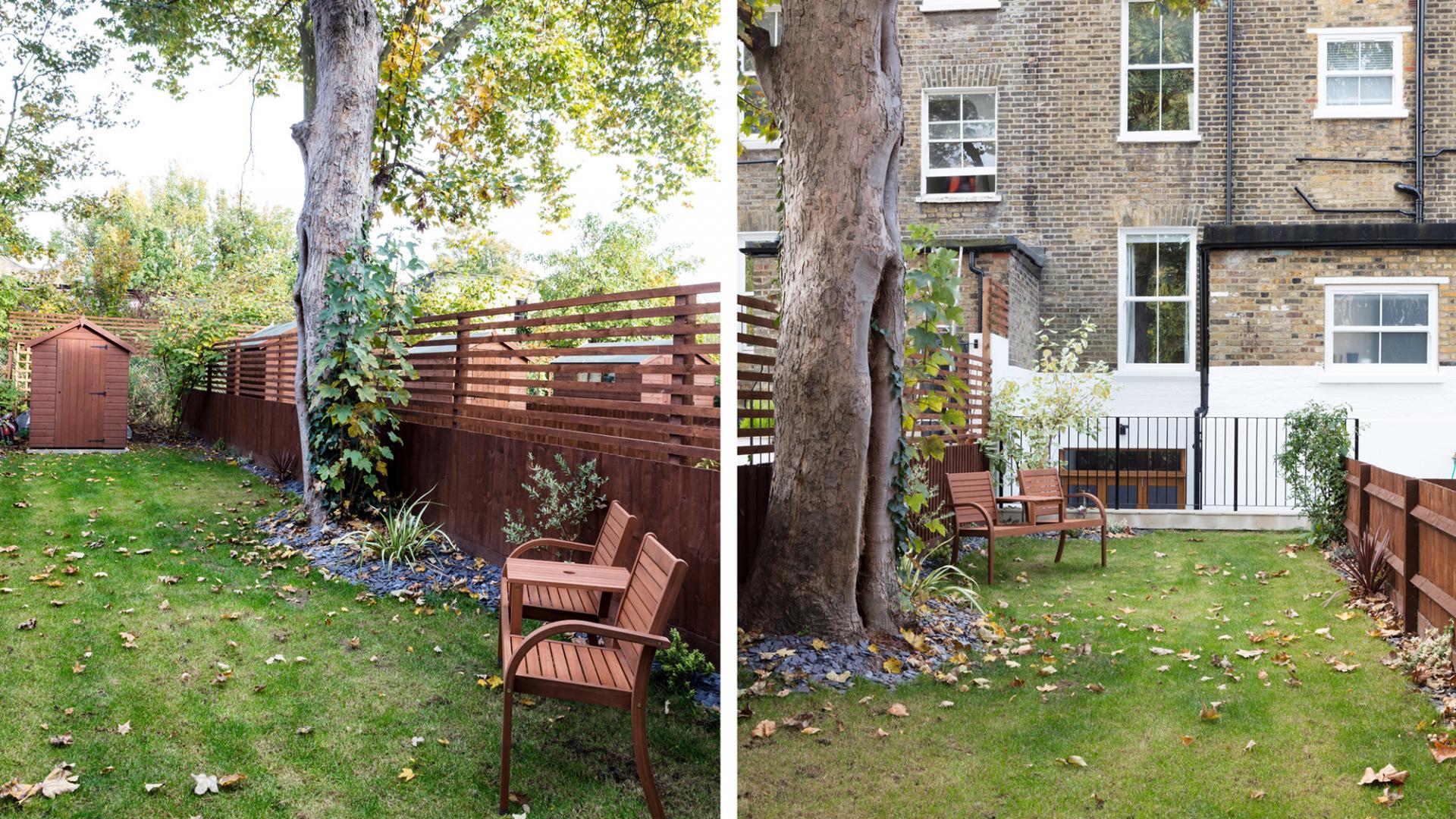 Garden at Byrne Garden 1 Apartment