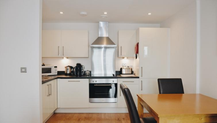 Kitchen/dining area at Liverpool One Apartments
