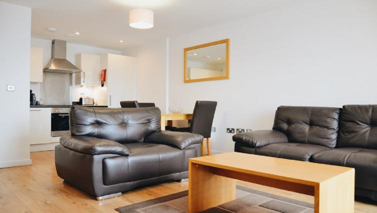 Lounge at Liverpool One Apartments