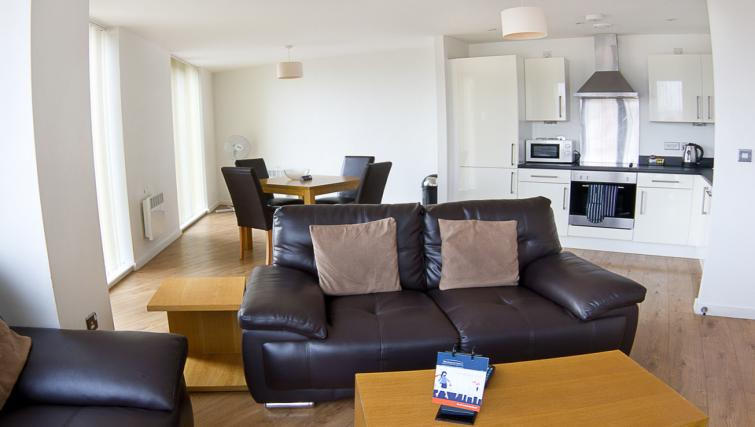 Sofa at Liverpool One Apartments