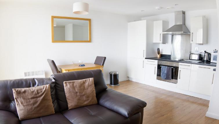 Kitchen/living area at Liverpool One Apartments