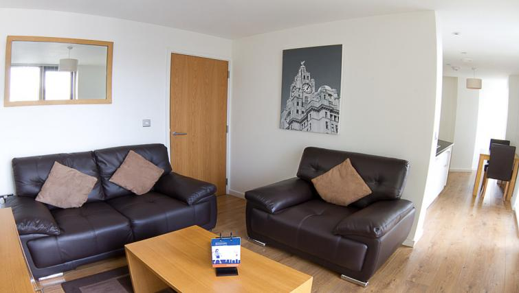 Compact living at Liverpool One Apartments