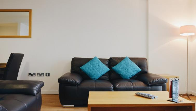 Couch at Liverpool One Apartments