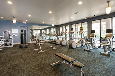 Fitness Center at Broadstone Memorial  Corporate Housing